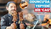 Erzurum'un meşhur lezzeti Cag kebabı Şanlıurfa'da