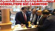İzmir'de Haliliye ve Göbeklitepe'ye yoğun ilgi