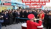 Haliliye Belediyesinden büyük açılış