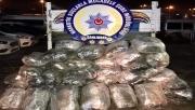 Urfa'da yüzlerce kilogram esrar ele geçirildi