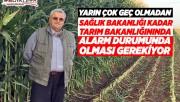 Alişiroğlu: Tarım Bakanlığı Alarm Durumuna Geçmeli