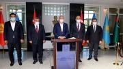 Bakan Soylu Urfa'da güvenlik toplantısına katıldı