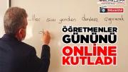 Beyazgül öğretmenler gününü online kutladı