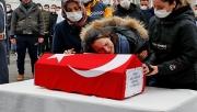 Sepinli ve oğlunun cenazesi memleketine uğurlandı