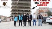 Şanlıurfa'da Hilton Oteli İnşaatı Hızla Yükseliyor