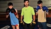 Şanlıurfalı 4 kardeş kick boksta büyük başarılar peşinde